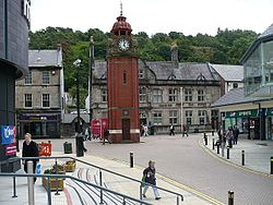 Bangor clock tower - geograph.org.uk - 901867.jpg